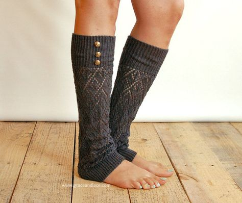 Long leg warmers black boot socks boot cuffs  LG black pilates socks toeless cybergoth clothing