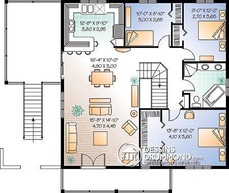 Détail du plan de Maison unifamiliale W3905 Faire construire sa