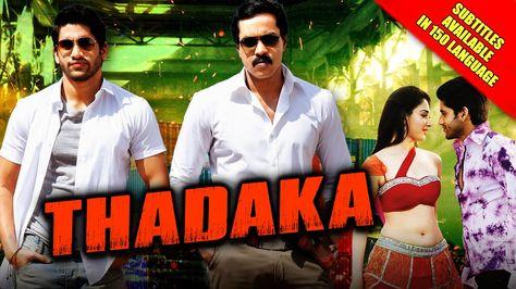 hindi dubbed movies of naga chaitanya - tadhaka poster
