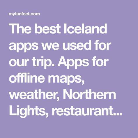 Best Iceland Apps You Must Download: Offline Maps, Weather, and More on online interactive maps, advertising maps, print maps, service maps, facebook maps,