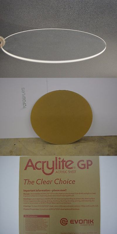 Other Craft Pieces 160705 Plexiglass Acrylic Plastic Sheet Disc Circle Clear 1 8 X 10 Diameter Buy It Acrylic Plastic Sheets Plastic Sheets Acrylic Plastic