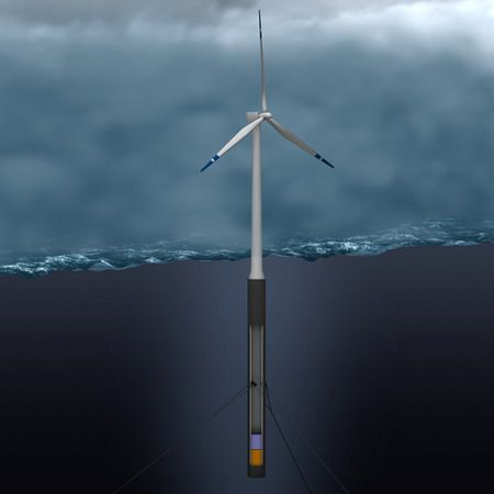 hywind-floating-wind-turbine Super Wind Turbines Pinterest - wind turbine repair sample resume