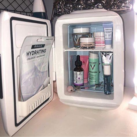 mini fridge light