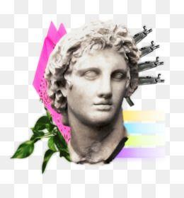 Vaporwave Png Vaporwave Statue Vaporwave Text Cleanpng Kisspng Vaporwave Creative Icon Png