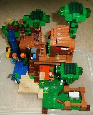 Lego Minecraft Jungle Tree House 21125 Retired Set Vgc With