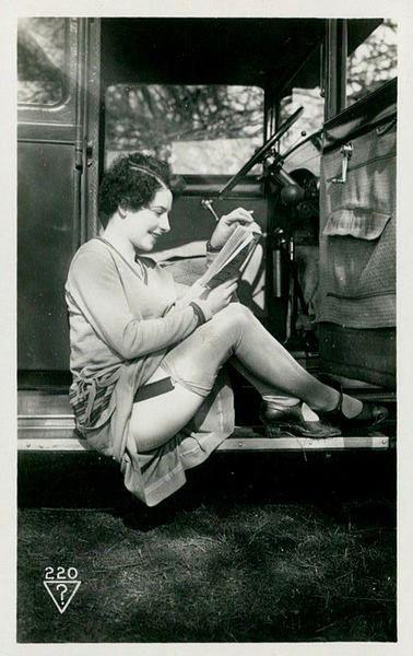 1920's post card--l'esprit swing's