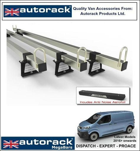 Roof Rack for NISSAN NV200 NV-200-3 Roof Bars Autorack WorkReady Ladder Bars