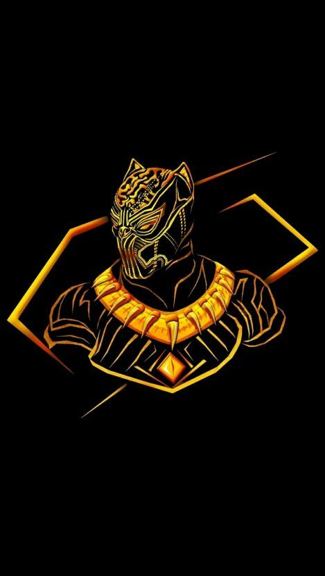 Black Panther Neon Glow Avengers Iphone Wallpaper Iphone Wallpapers Avengers Wallpaper Superhero Wallpaper Marvel Art
