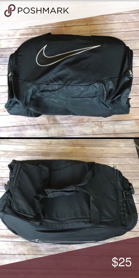 Nike Sport Duffle Bag Large Nike Sport Duffle Bag with two side zipper  pockets Willing to Lower Price Nike Bags Duffel Bags 2638d3c171