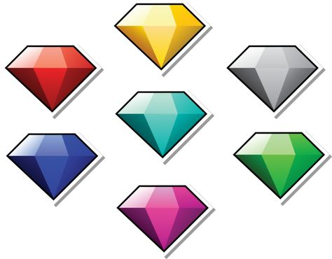 Chaos Emeralds Paper Style By Dpghoastmaniac2 On Deviantart Chaos Emeralds Chaos Paper