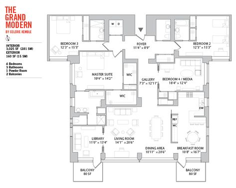 Manhattan House The Modern9 Floor Plan Floor Plans Manhattan House House Plans