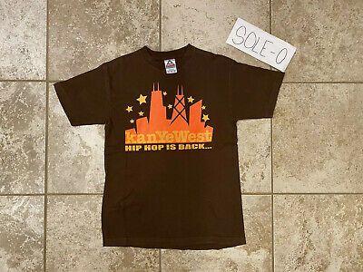 Vintage Kanye West T Shirt Brown Medium 1st Album 2004 College Dropout Concert Fashion Clothing Shoes Accessories Men In 2020 Concert Shirts Mens Outfits Shirts