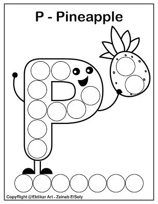 Set Of Abc Dot Marker Coloring Pages Preschool Alphabet Printables Dot Markers Alphabet Worksheets Preschool