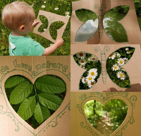 Forest School Activities, Nature Activities, Science Activities, Outdoor Education, Outdoor Learning, Art For Kids, Crafts For Kids, Outdoor Classroom, Nature Crafts