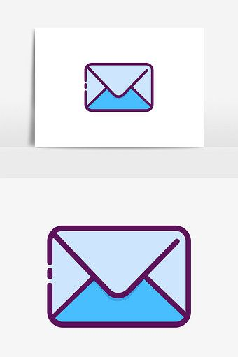 Cute Minimalistic Mbe Style Mail Envelope Vector Elements Png Images Ai Free Download Pikbest Elements Vector Style