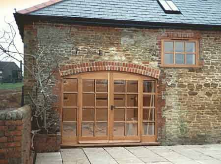 Barn Conversion and Renovation Project in Surrey by Jacobs Joinery and  Shopfitting, including all external and internal joinery and architraving.