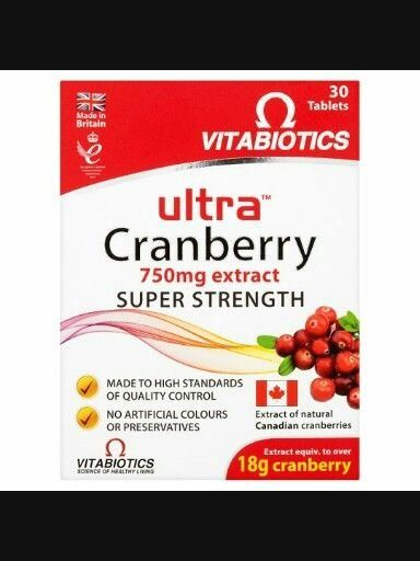 Vitabiotics Ultra Cranberry 750mg Extract Girls We All Know What These Are For Modern Design In 2020 Cranberry Tablets Cranberry Joint Health Supplement