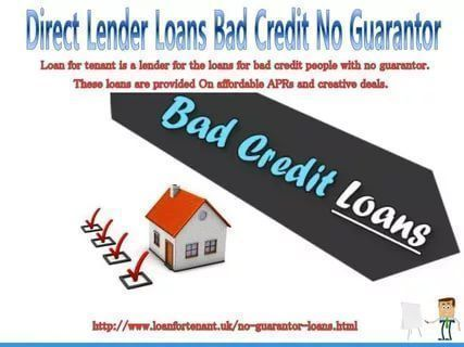 Guaranteed Loans No Guarantor Direct Lenders Guaranteed Loan Loans For Bad Credit Loans For Poor Credit