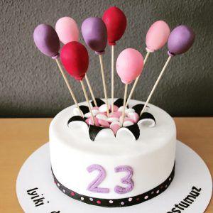 Luftballon Torte Luftballons Cake Pops Torten