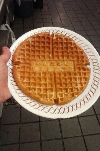 Perfect waffle!!!!