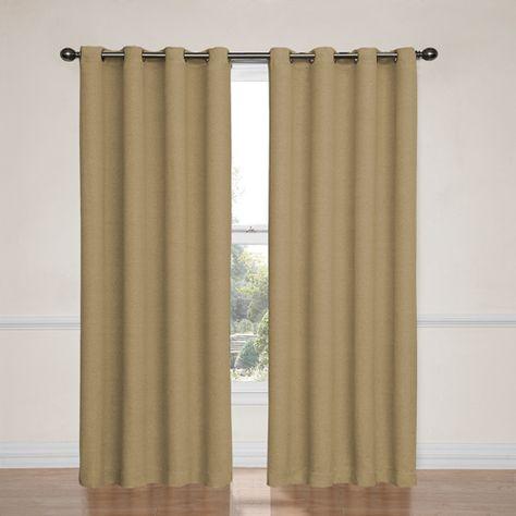 Bobbi Tan 52 Inch X 63 Inch Blackout Window Curtain Panel