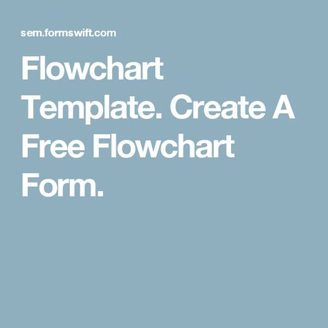 Flowchart Template Create A Free Flowchart Form office - flowchart template