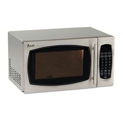 Avanti Mo9003sst 0 9 Cubic Foot Capacity Stainless Steel Microwave