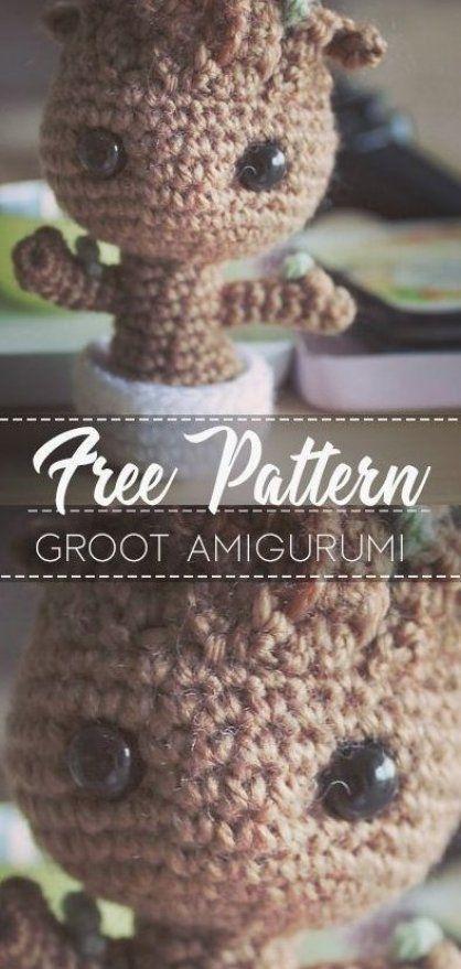 Ravelry: Groot Amigurumi pattern by Clare Heesh | 879x418