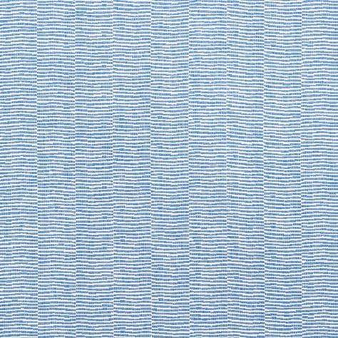 Schumacher Promenade Indoor/Outdoor Marine Fabric - Sample - Schumacher Promenade Indoor/Outdoor Marine Fabric / PROMENADE INDOOR/OUTDOOR / MARINE