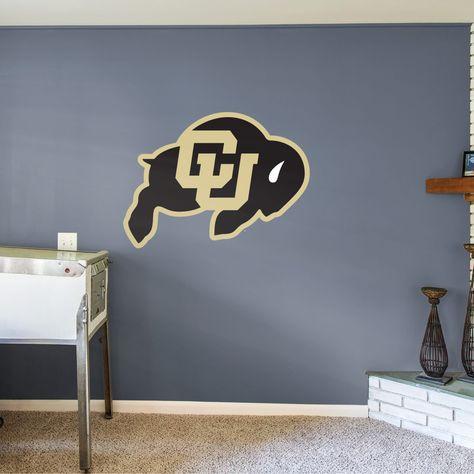 Colorado Buffaloes Logo NCAA Wall Decal College Football Decor Vinyl Sticker