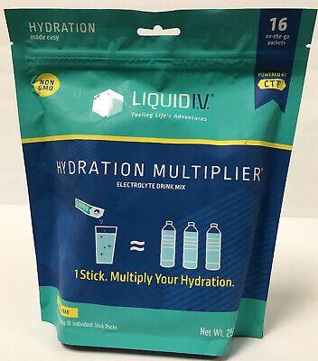 Advertisement Liquid I V Hydration Multiplier Lemon Lime 16