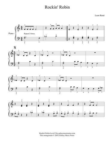 Black Keys Piano Sheet Music