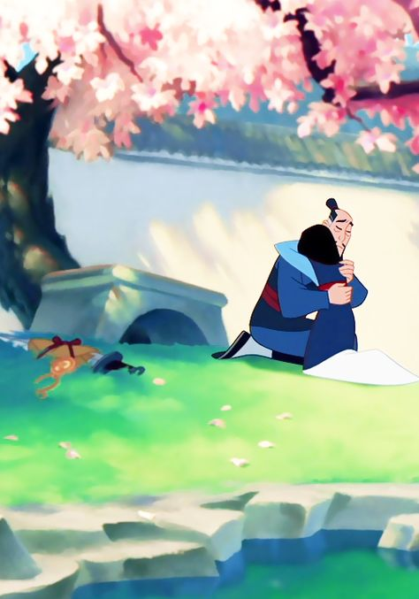 Mulan and her parents, Fa Zhou and Fa Li