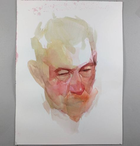 Nick Runge Nickvrunge 9 29 2017 Watercolor 9x12 On Arches Hot