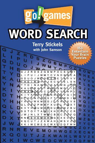Go Games Word Search Terry Stickels John Samson 1936140098