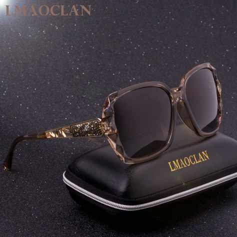 BARCUR Polarized Ladies Sunglasses Women Gradient Lens Women Sun glasses Luxury