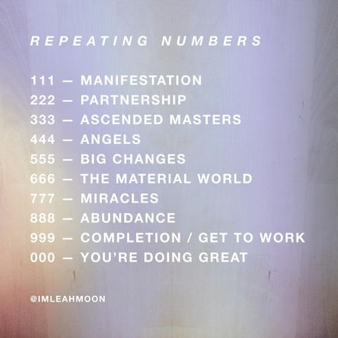 List of Pinterest synchronicity numbers 333 pictures