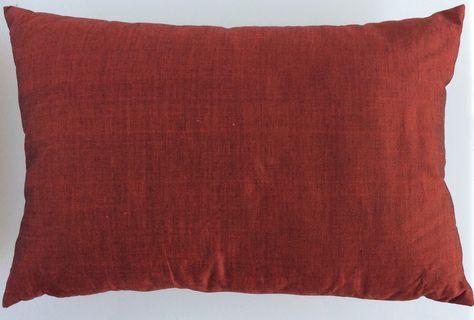 Cuscini Bordeaux.Cuscino In Cotone Bordeaux Cm 43x28 Cuscini Decorativi