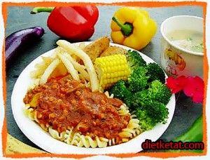 Menu Makanan Diet Sehat Diet Ketat