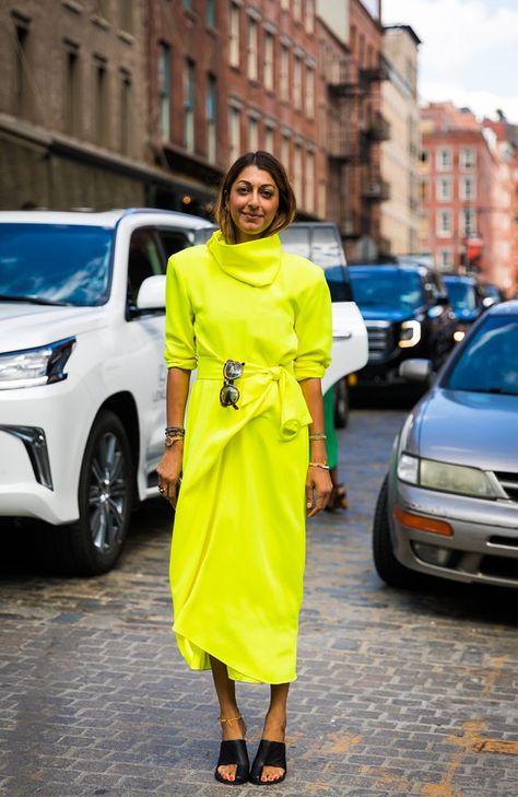 Stylish New York Fashion Week Spring 2018 Street Style