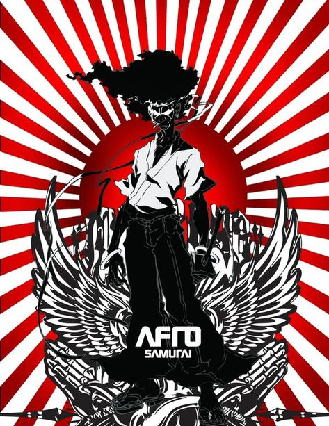 Afro Samurai Vector by FullMeta1 on DeviantArt