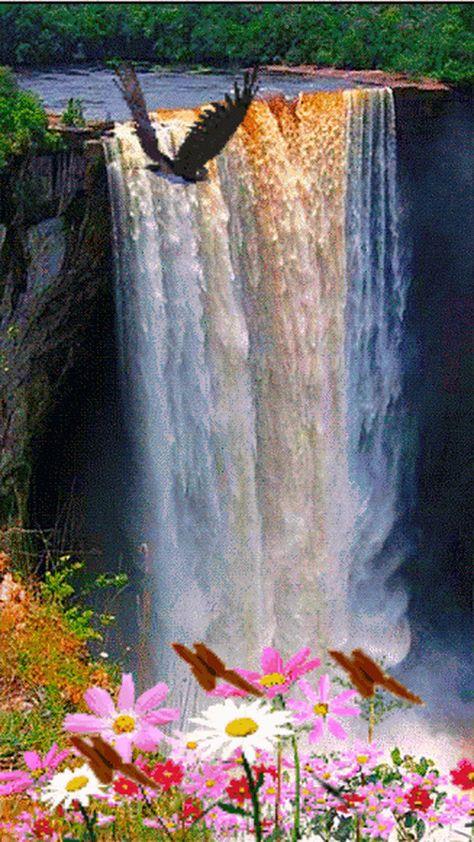 animated waterfall