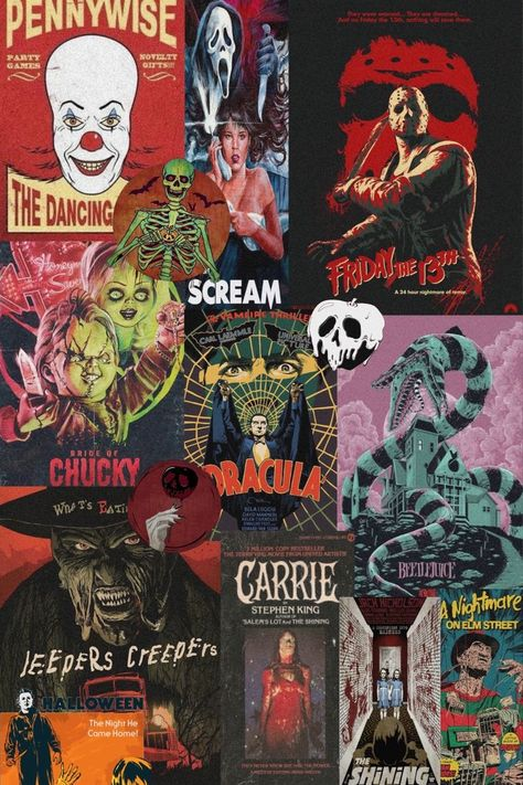 Top 20 Halloween Movies you have to see! - Cheyenne Traficante