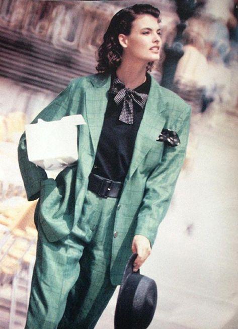 Linda Evangelista for Rodier 1987