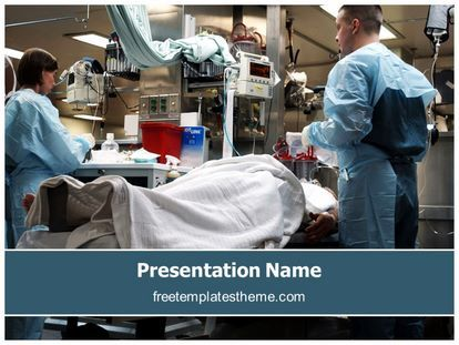Download Free Medical Operation Powerpoint Template For