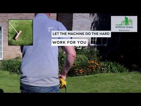 Artificial Grass Brush Rake Lawn Broom Sweeper Artificial Grass Grass Synthetic Turf