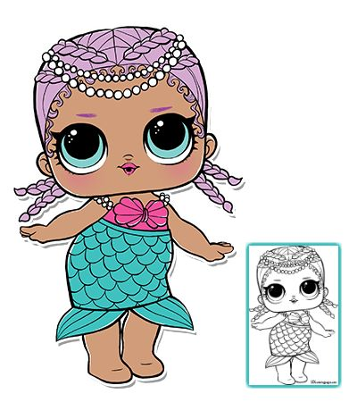Search Results For Merbaby Lol Surprise Doll Coloring Pages Lol Dolls Merbaby Doll Drawing