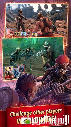 التحديث الجديد للعبة القتال Pirate Tales Battle For Treasure