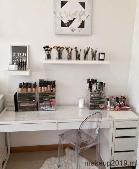 Trendy makeup storage ideas beauty room dressing tables bedrooms 24 Ideas #beauty #makeup