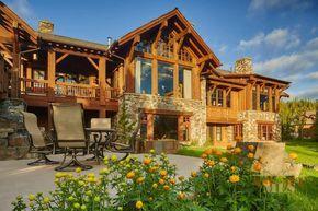 Big Sky Montana Homes For Sale 862 Elk Meadow Elkridge Lot 33 Big Sky Mt Image 1 Montana Homes Montana Landscape Montana Cabin